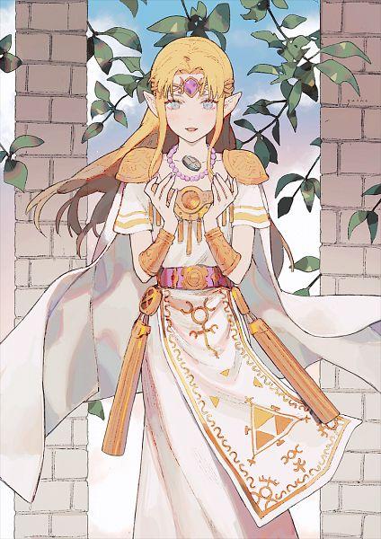 Tags: Anime, Jiayue Wu, Zelda no Densetsu, Zelda no Densetsu: Kamigami no Triforce 2, Zelda (Kamigami no Triforce 2), Princess Zelda, Pixiv, Fanart, Fanart From Pixiv