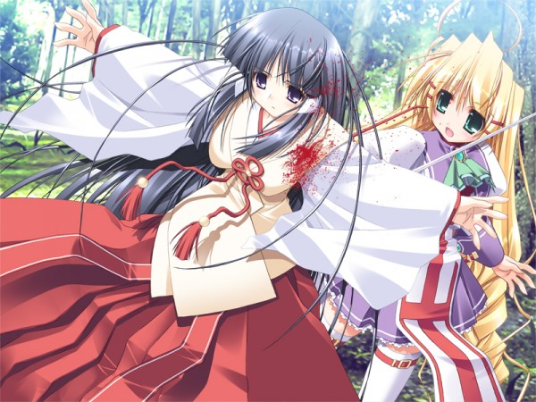 Tags: Anime, Prism Ark, Pricia, Kagura (Prism Ark), CG Art