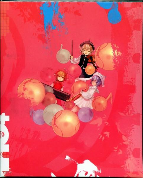 Tags: Anime, Asai Genji, Touhou Project Tribute Arts, Touhou, Lunasa Prismriver, Merlin Prismriver, Lyrica Prismriver, Scan, Prismriver Sisters