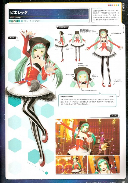 Project DIVA Pierreta - Project DIVA F