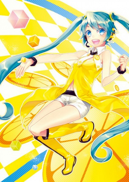 Project DIVA Yellow - Project DIVA 2nd