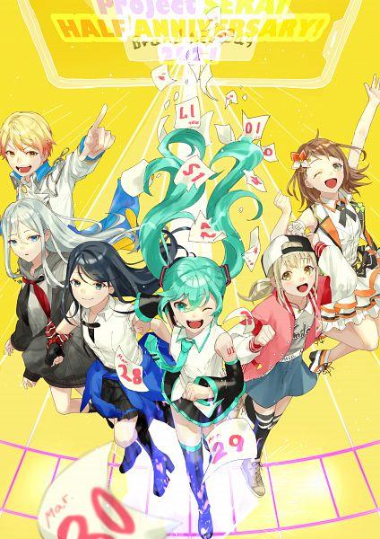 Tags: Anime, Pixiv Id 7372853, Project Sekai Colorful Stage! feat. Hatsune Miku, VOCALOID, Azusawa Kohane, Hanasato Minori, Hoshino Ichika (Project Sekai), Yoisaki Kanade, Hatsune Miku, Tenma Tsukasa, Fanart, Fanart From Pixiv, Pixiv