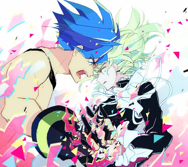 Tags: Anime, Pixiv Id 630851, Promare, Lio Fotia, Galo Thymos, Fanart From Pixiv, Pixiv, Fanart