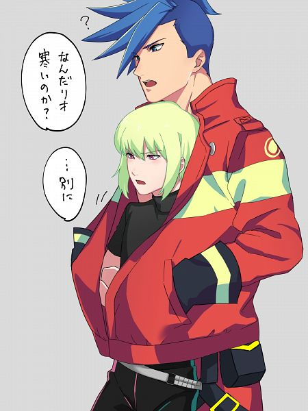 Tags: Anime, Pixiv Id 30197409, Promare, Galo Thymos, Lio Fotia, Fanart, Fanart From Pixiv, Pixiv
