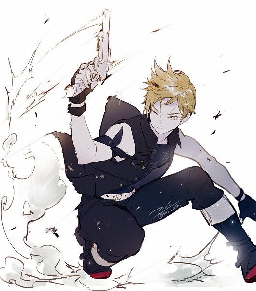 Tags: Anime, Yasai Getsu, Final Fantasy XV, Prompto Argentum, Twitter