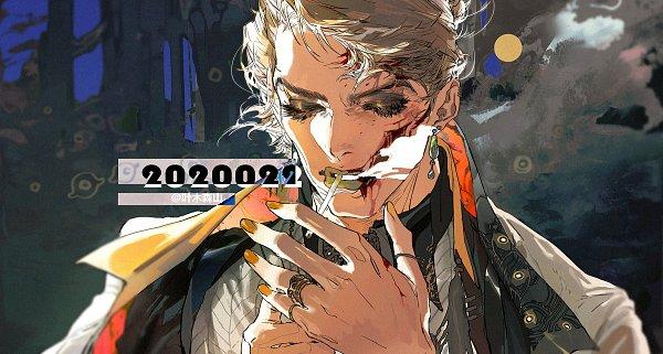 Tags: Anime, Pixiv Id 7709680, JoJo no Kimyou na Bouken, Vento Aureo, Prosciutto, Yellow Lips, Fanart From Pixiv, Pixiv, Fanart