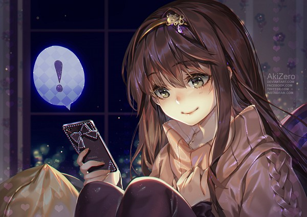 Tags: Anime, AkiZero1510, Mystic Messenger, Protagonist (Mystic Messenger), iPhone, deviantART, Fanart, Fanart From DeviantART