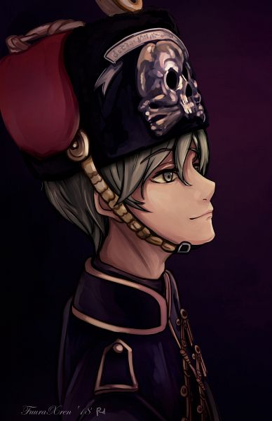Tags: Anime, Pixiv Id 19492415, Axis Powers: Hetalia, Prussia, Hussar, Soldier