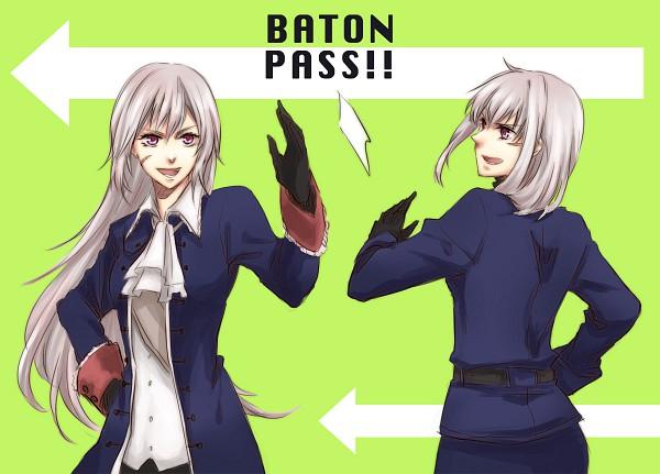 Tags: Anime, Orii (Pixiv1123766), Axis Powers: Hetalia, Prussia, Prussia (Female), Pixiv, Fanart, Nyotalia