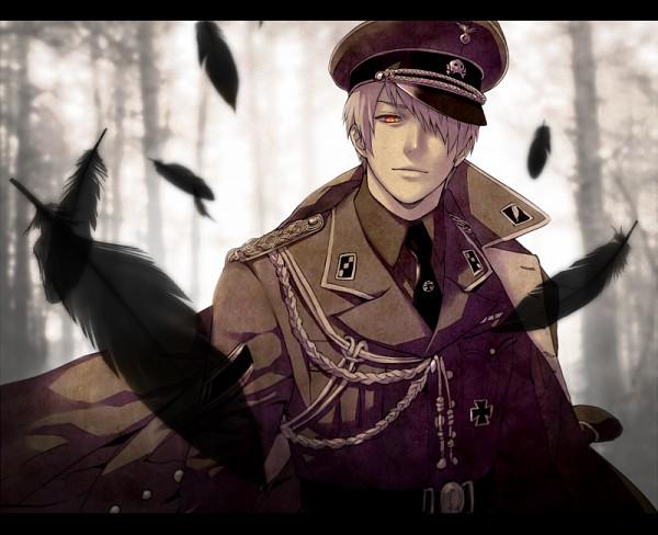 Tags: Anime, CoQ10, Axis Powers: Hetalia, Prussia, Iron Cross, Swastika, Fanart, Pixiv, Fanart From Pixiv, Germanic Countries