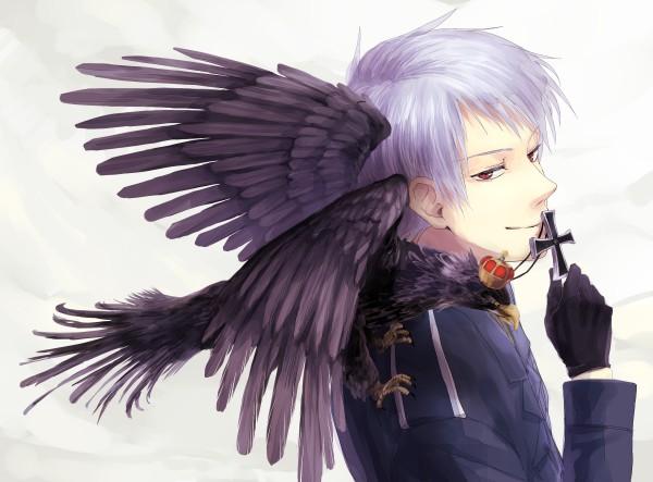 Tags: Anime, Takenoko, Axis Powers: Hetalia, Prussia, Prussian Eagle, Iron Cross, German Eagle, Eagle, Fanart, Pixiv