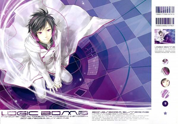 Tags: Anime, Sumeragi Sora, DURARARA!!, Psyche, Orihara Izaya, Pixiv, Scan, Psychedelic Dreams, Fanart, Doujinshi Cover
