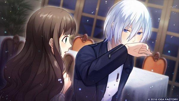 Tags: Anime, Yuzuki Karu, IDEA FACTORY, Otomate, PsychicEmotion6, Tsukishima Hikari, Minase Aoi (PsychicEmotion6), CG Art, Official Art