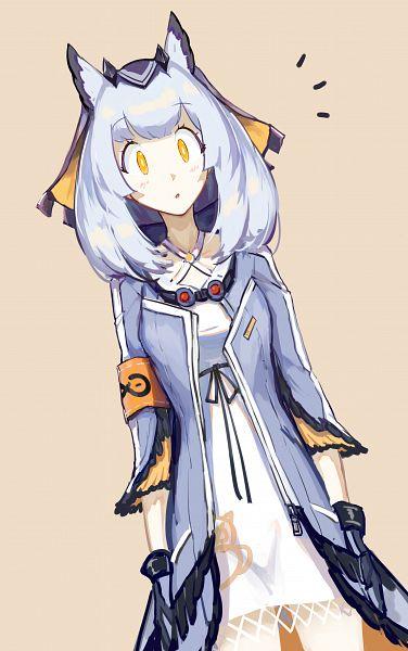 Tags: Anime, Pixiv Id 3986373, Arknights, Ptilopsis