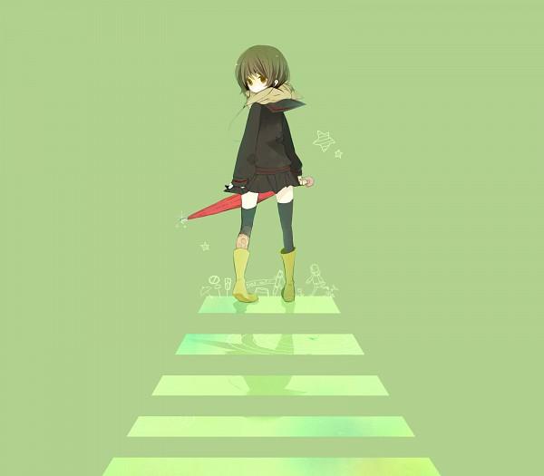 Tags: Anime, Purinto, Crossing, Crosswalk, Rain Boots, Pixiv