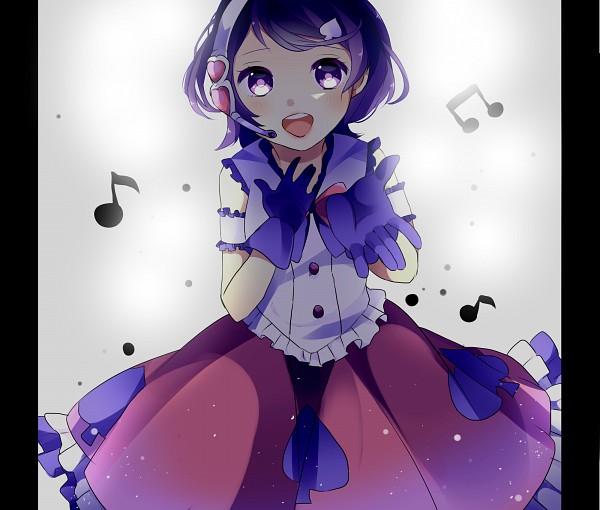 Purple Handwear