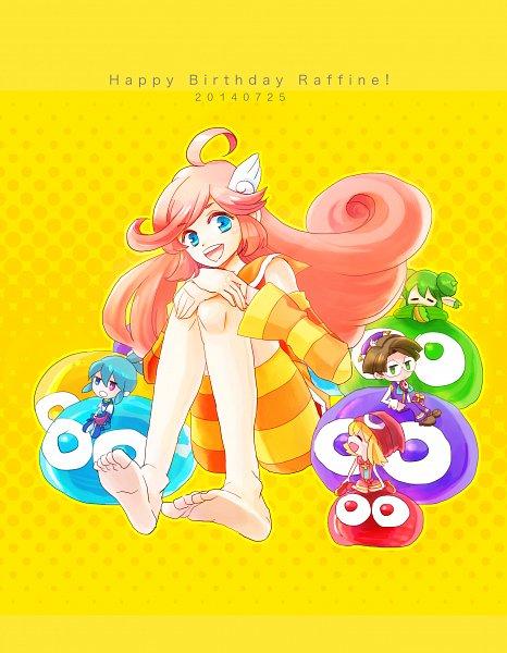 Tags: Anime, Pixiv Id 591035, Puyo Puyo, Raffina, Sig (Puyo Puyo), Amitie, Klug, Fanart, Fanart From Pixiv, Pixiv