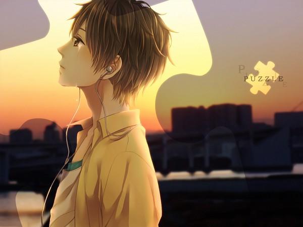 Tags: Anime, Teinpomu, Kony, Puzzle Piece, Nico Nico Singer, Pixiv, Wallpaper, Puzzle (VOCALOID)