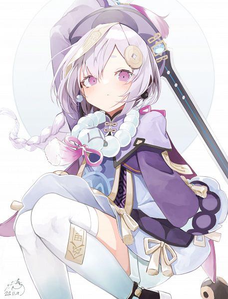 Tags: Anime, Pixiv Id 5445450, Genshin Impact, Qiqi, Yin Yang (Symbol)