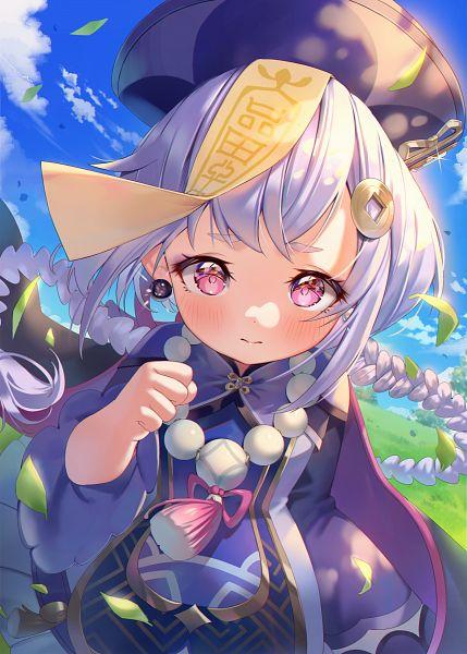 Tags: Anime, Pixiv Id 38015536, Genshin Impact, Qiqi, Fanart From Pixiv, Pixiv, Fanart