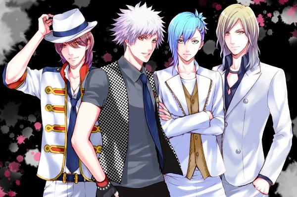 Tags: Anime, Koto Fuzuki, BROCCOLI, Uta no☆prince-sama♪, Kotobuki Reiji, Camus (Utapri), Kurosaki Ranmaru, Mikaze Ai, Fanart, Pixiv, Quartet Night