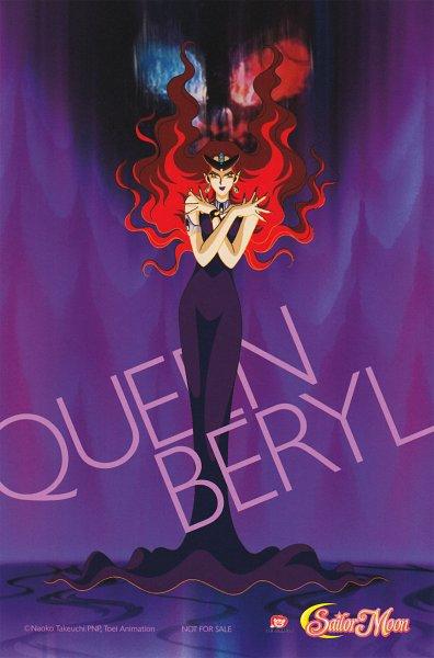 Tags: Anime, Toei Animation, Bishoujo Senshi Sailor Moon, Queen Beryl, Scan, Official Art