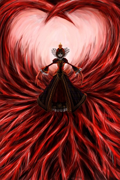 Tags: Anime, Pixiv Id 874258, American McGee's Alice, American McGee's Alice: Madness Returns, Lizzie (Alice Madness Returns), Queen of Hearts (American McGee's), Pixiv, Fanart, Mobile Wallpaper, Fanart From Pixiv