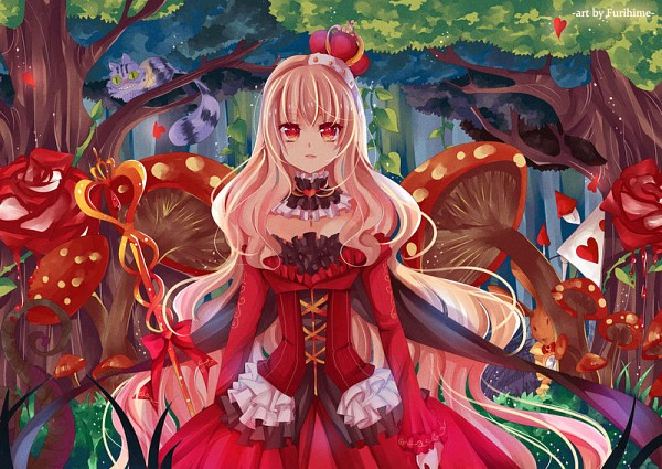 Tags: Anime, Furihime, Alice in Wonderland, Queen of Hearts, deviantART