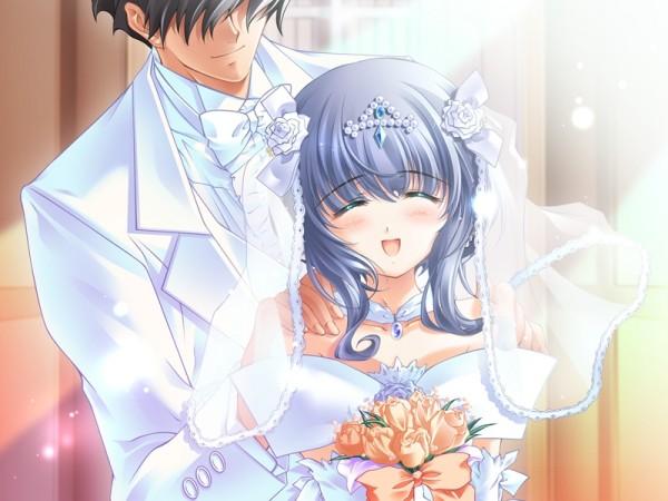 Tags: Anime, CARNELIAN, Quilt (VN), Takumi (Quilt), Sia (Quilt), CG Art