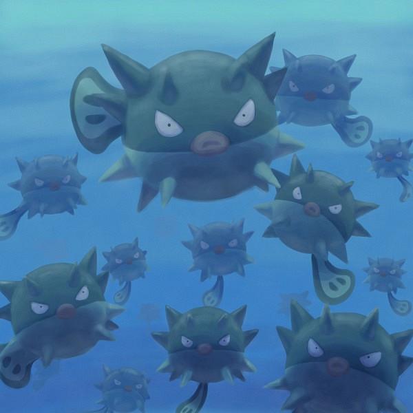 Qwilfish - Pokémon