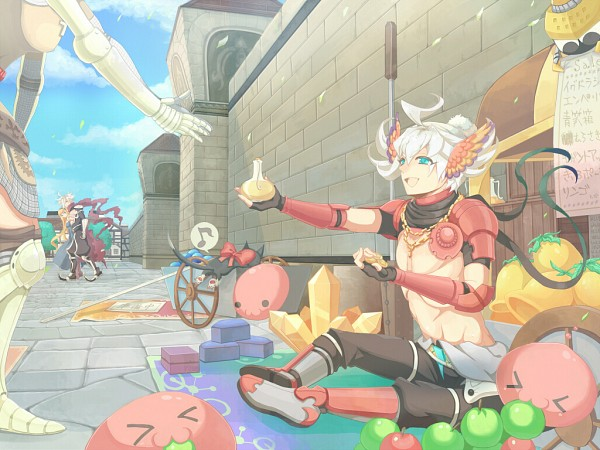 Tags: Anime, Pixiv Id 427064, Knight (Ragnarok Online), Assassin Cross, Assassin (Ragnarok Online), Priest (RAGNARÖK ONLINE), Poring, Clergy, Character Request, Fanart, Pixiv, Transcendent Second Class, Second Class