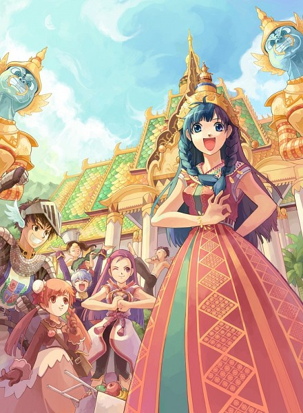 Tags: Anime, RAGNARÖK ONLINE, Knight (Ragnarok Online), Poring, Champion, Monk (Ragnarok Online), Merchant (Ragnarok Online), Priest (Ragnarok Online), Artist Request, Official Art, Character Request, Second Class, Transcendent Second Class