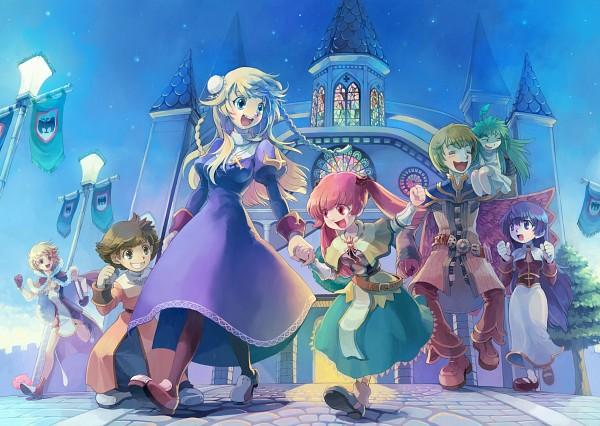 Tags: Anime, RAGNARÖK ONLINE, Lif, Acolyte, High Wizard, Priest (RAGNARÖK ONLINE), Poring, Character Request, Artist Request, Transcendent Second Class, First Class, Second Class
