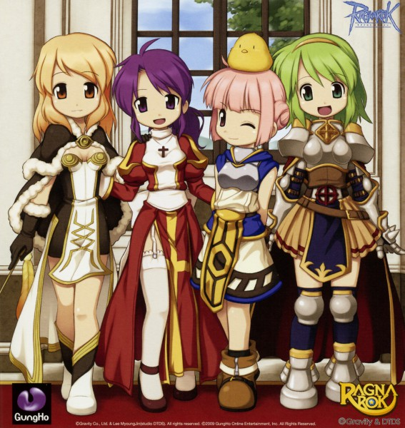 Tags: Anime, RAGNARÖK ONLINE, High Priestess, High Wizard, Lord Knight (Rangnarok Online), Super Novice
