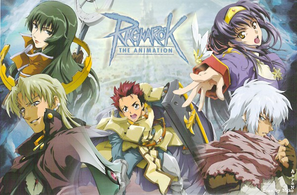 Tags: Anime, RAGNARÖK THE ANIMATION, RAGNARÖK ONLINE, Keough, Takius, Sage (Ragnarok Online), Roan (ragnarok The Animation), Crusader, Yuufa, Iruga Alam, Priest (Ragnarok Online), Scan, Second Class