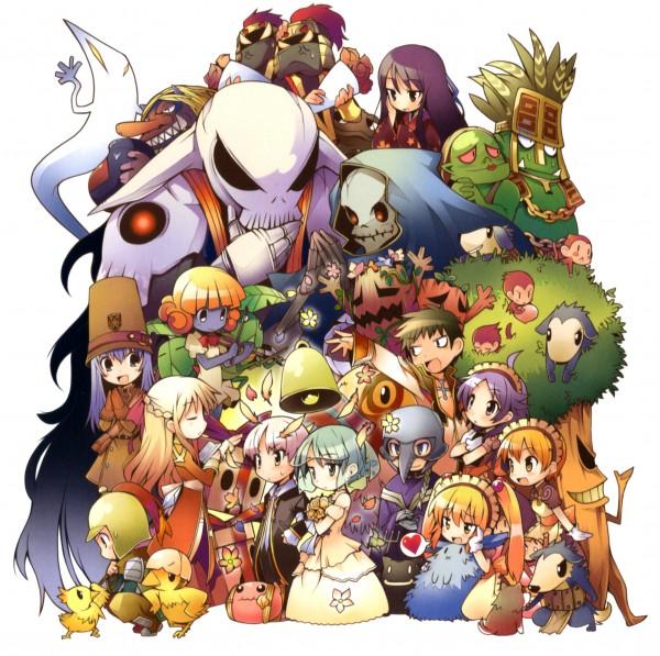 Tags: Anime, RAGNARÖK ONLINE, Choco (Ragnarok Online), Baby Desert Wolf (Ro), Tengu (Ragnarok Online), Miyabi Doll, Violy (Ragnarok Online), Kafra, Poring, Deviruchi, High Priestess, Binitto, High Priest