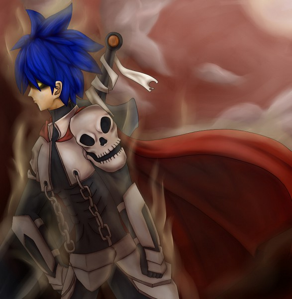 Tags: Anime, RAGNARÖK ONLINE, Thanatos Phantom, Character Request