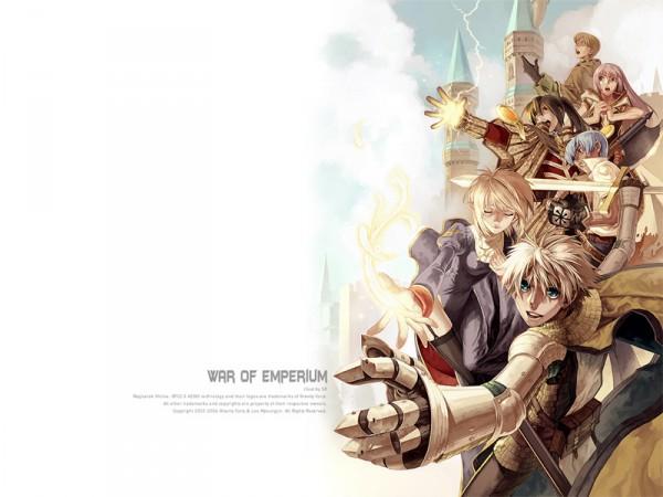 Tags: Anime, RAGNARÖK ONLINE, Monk (Ragnarok Online), Blacksmith (Ragnarok Online), Sorcerer, Monk, Clergy