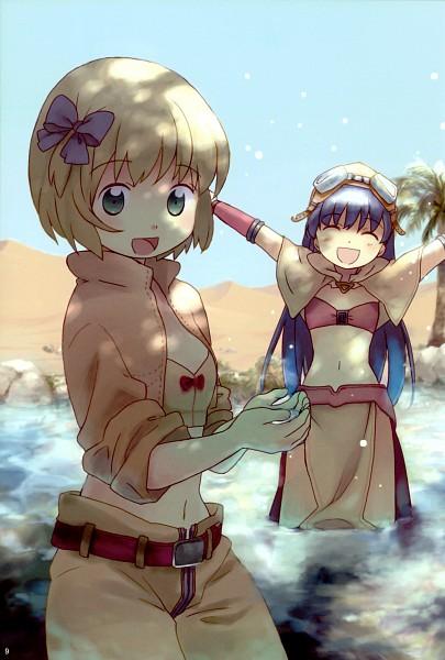 Tags: Anime, Furu, RAGNARÖK ONLINE, Mage (Ragnarok Online), Thief (Ragnarok Online), Desert, Fanart, Pixiv, First Class