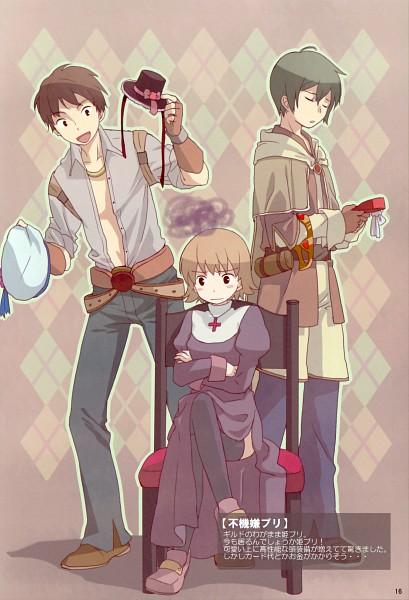 Tags: Anime, Furu, RAGNARÖK ONLINE, Priest (RAGNARÖK ONLINE), Blacksmith (Ragnarok Online), Bard (Ragnarok Online), Tam (Ragnarok Online), Fanart, Pixiv, Second Class