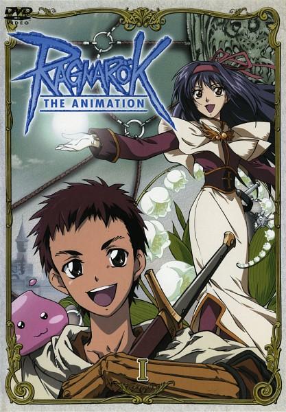 Tags: Anime, RAGNARÖK THE ANIMATION, RAGNARÖK ONLINE, Acolyte, Poring, Poi-poi, Roan (ragnarok The Animation), Swordsman (Ragnarok Online), Yuufa, DVD (Source), Official Art, Scan, First Class
