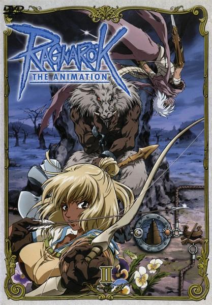 Tags: Anime, RAGNARÖK THE ANIMATION, RAGNARÖK ONLINE, Assassin (Ragnarok Online), Baphomet (Ragnarok Online), Hunter (Ragnarok Online), Judia, Official Art, Scan, DVD (Source), Second Class