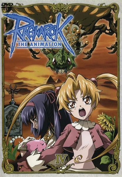 Tags: Anime, RAGNARÖK THE ANIMATION, RAGNARÖK ONLINE, Poi-poi, Maaya, Yuufa, Merchant (Ragnarok Online), Poring, Acolyte, Pyramid, Character Request, Official Art, Scan