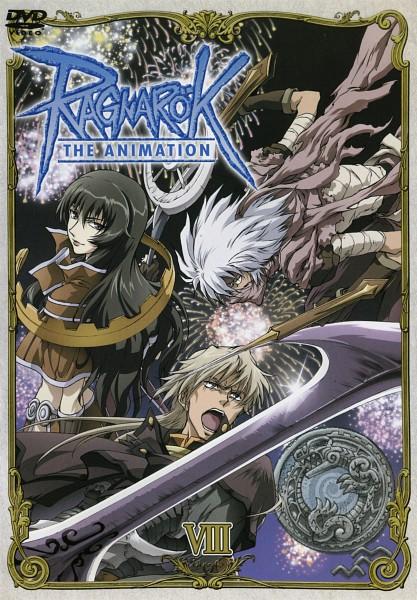 Tags: Anime, RAGNARÖK THE ANIMATION, RAGNARÖK ONLINE, Assassin (Ragnarok Online), Iruga Alam, Keough, Takius, Sage (Ragnarok Online), DVD (Source), Official Art, Scan, Second Class
