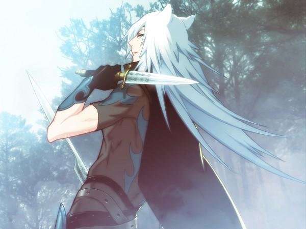 Tags: Anime, Nitro+CHiRAL, Lamento, RAI, Black Cape, CG Art