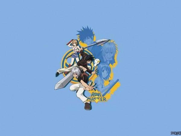 Tags: Anime, RAVE Master, Hamrio Musica, Haru Glory, Elie, Artist Request, Wallpaper