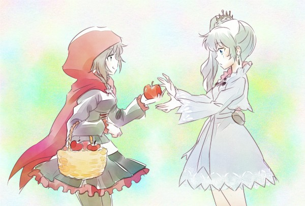 Tags: Anime, Iesupa, RWBY, Weiss Schnee, Ruby Rose, Red Riding Hood (Cosplay)