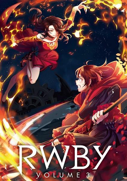 Tags: Anime, RWBY, Ruby Rose, Cinder Fall
