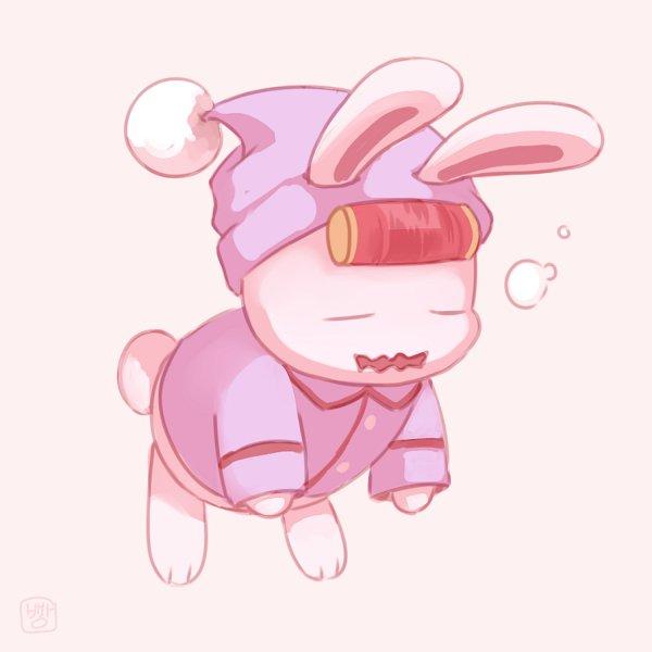 Tags: Anime, Pixiv Id 22984976, Healin'Good♥Precure, Rabirin, Night Cap, Fanart, Fanart From Pixiv, Pixiv