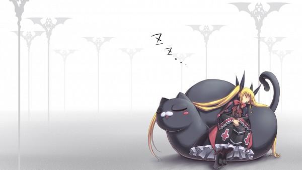 Tags: Anime, Kellkero, BlazBlue, Nago, Rachel Alucard, Facebook Cover, Wallpaper